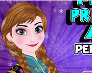 Frozen Princess Anna perfect makeover online játék